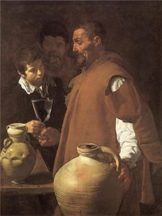 The Waterseller of Seville (1623) by Diego Velazquez.
