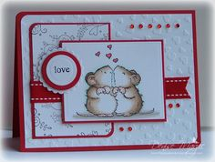 Uses Penny Black stamp (3343H snuggle mice)