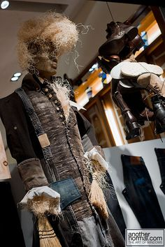 the scarecrow, pinned by Ton van der Veer