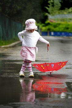 Just singin' in the rain!
