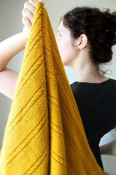 Long and cozy yellow