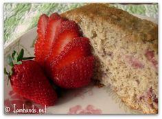 Jam Hands: Strawberry Banana Bread