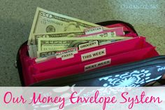 Our Money Envelope System | Organize 365