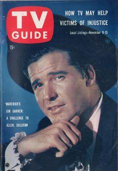 "James Garner of ""Maverick""  November 9-15 1957"