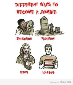 how to become a zombie