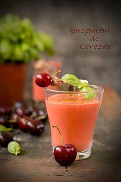 Sweet & Sour: GAZPACHO DE CEREZAS CON ANTXOAS DEL CANTABRICO Y A...