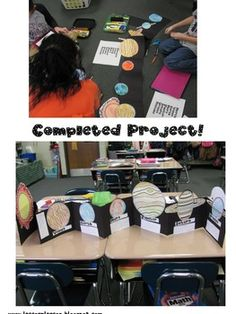 Solar System Flip Book: Student Created! - Lesson Plan SOS Teachers - TeachersPayTeachers.com