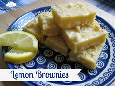 Lemon, Macadamia Nut & White Chocolate Chip Brownies!  They are very moist and lemony!  The Brownie of Summer!! @epicuricloud, Christina Verrelli, Christina Verrelli