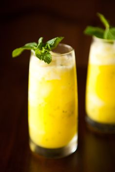 SCD Pineapple Agua Fresca (use honey instead of agave)