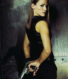 Jennifer Garner as Sydney Bristow in Alias.