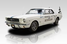 1964 1/2 Ford Mustang Pace Car 1 of 1 Holman Moody Modified Mustang Convertible Indy 500 Pace Car