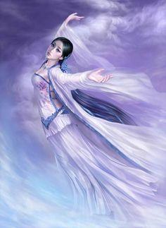 yuehui tang, artal kind, fantasi artwork, beautiful art