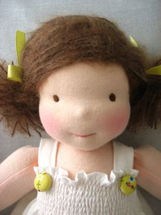 This doll is so cute...