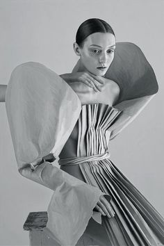 paper haute couture