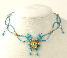 necklace pattern, schema   Beads Magic