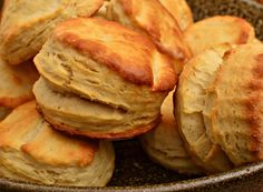The tea is sweet, the chicken is hot, and no meal is complete without at least one biscuit...