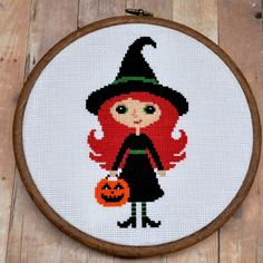 witch cross stitch