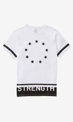 GRAPHIC TEE - STRENGTH INTERRUPTED from EXPRESS - that should be mine!