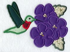 Hummingbird (Applique)