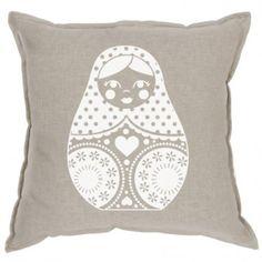 white cushion, nest design, babushka white, linens, cushions, cushion urban, urban nest, nests, cushion white
