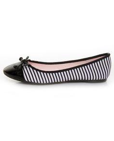 fabric stripe, wear stripe, stripe ballet, ballet flats, shoe