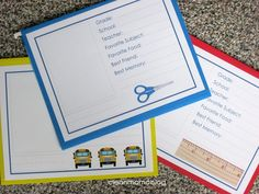 Create a School Memory Box - FREE printables - Clean Mama