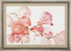 Pink Blossoms Print by Jodie Richter  | Crate and Barrel