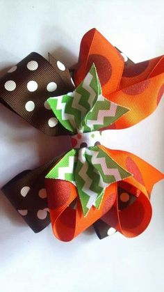 Fall hairbow
