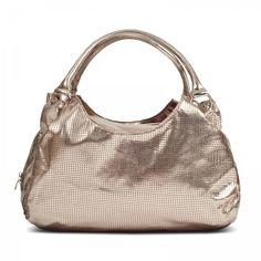 Susan Nichole Vegan Handbag Style #109 - Brooklyn in Metallic Gold