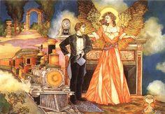fantasi artist, romant fantasi, thoma canti, project nebula