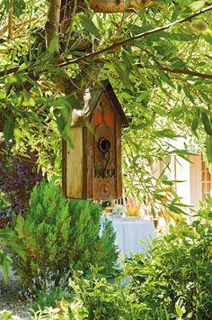 thelittlecorner.tumblr.com...sweet birdhouse in a beautiful setting.