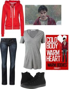 """warm bodies R but girl version"" by zoe-jadzia ❤ liked on Polyvore"