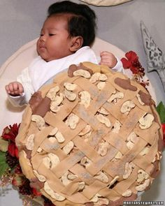 Pie Halloween Baby Costume How-To