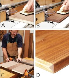 Tips for Edging - Woodworking Shop - American Woodworker