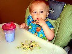 """Feeding a Toddler: food """"pyramid"""" and meal ideas for a 1 year old!"""