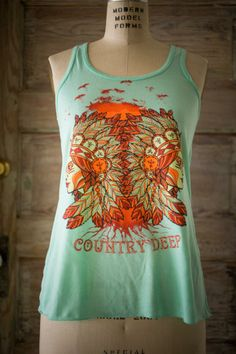 Country Deep Native Tank| Country Deep | Bourbon & Boots tank, arkansa