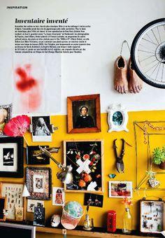 yellow via Marie Claire Maison