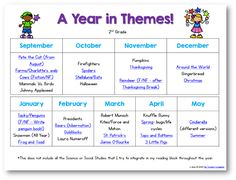 A Year of Themes