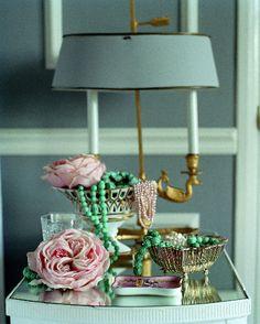 Pretty Vignettes-bedroom