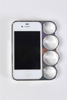 Metallic Ring iPhone 4 Case