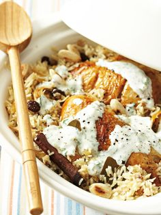 http://dailyfix.co.za/recipes/chicken-pilaf/ #food #foodporn #recipes