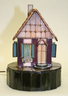 Stained glass Christmas Village?