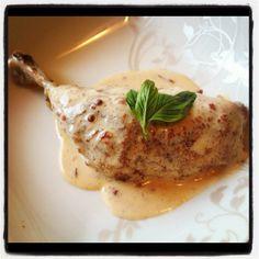 Chicken Thighs in Chipotle Cream Sauce