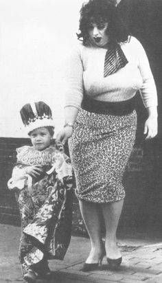 The Infant of Prague and Lady Divine (Divine) from John Waters' Multiple Maniacs, 1970