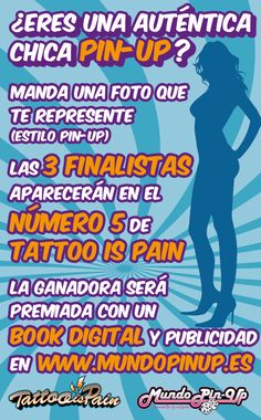 Concurso Mundopinup - Tattoo is Pain