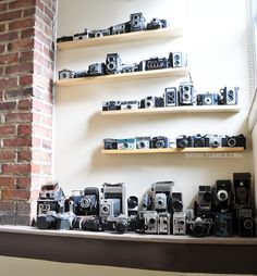 my vintage and antique camera collection