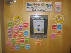 student recommend, bulletin board