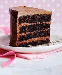 The most amazing chocolate cake. Seriously. Amazing.