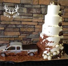 Mud truck wedding!