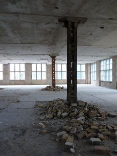 Abandoned Cigarette Factory, Berlin.